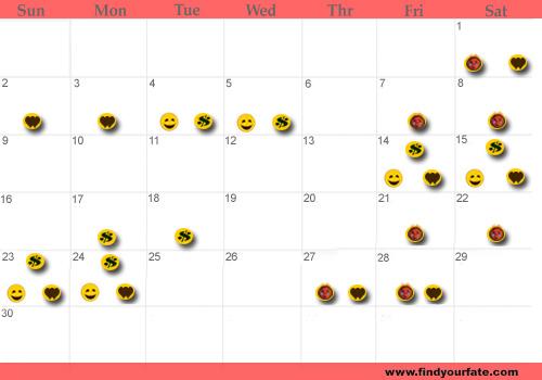 Zodiac Calendar April : Astrology calendars for all zodiac signs scorpio