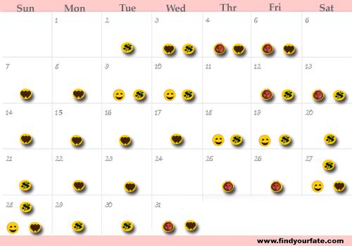 Virgo Calendar May : Astrology calendars for all zodiac signs virgo