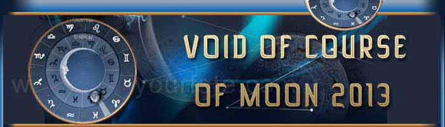 2013 Void of course Moon