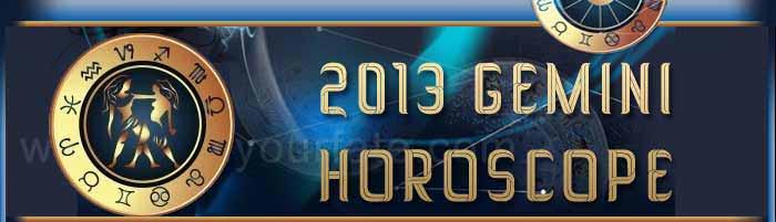 2013 Gemini Horoscope