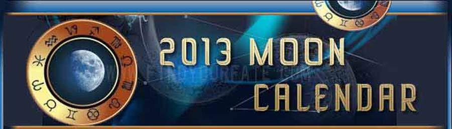 2013 Moon Calendar