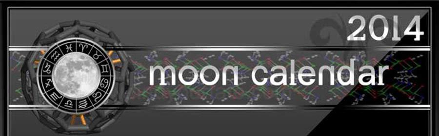 2014 Moon Calendar