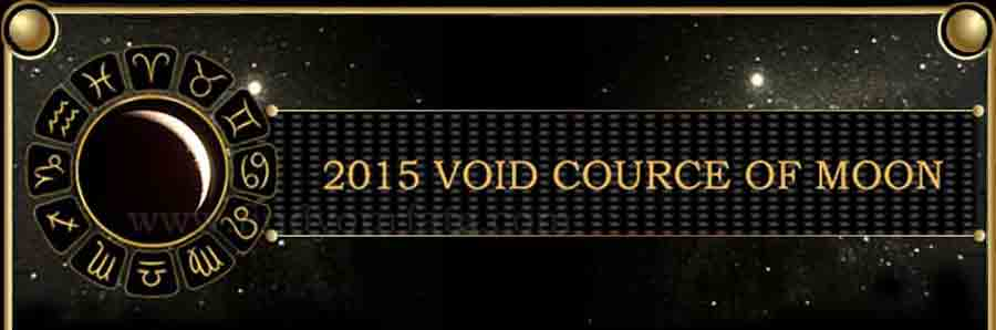 2015 Void of course Moon