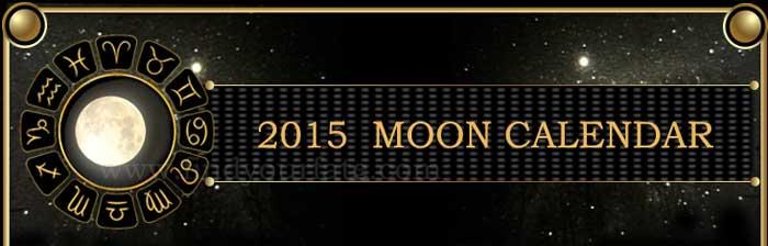 2015 Moon Calendar