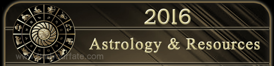 2016 Astrology