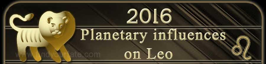 2016 Leo planetary influences