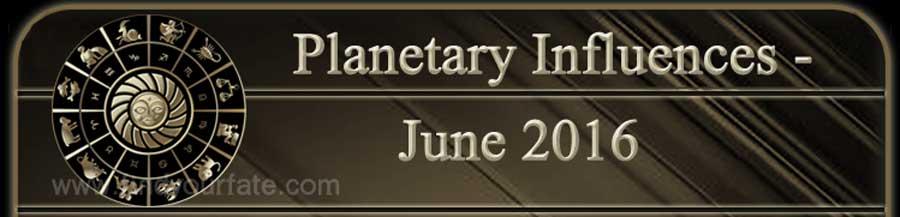 2016 Planet Influences