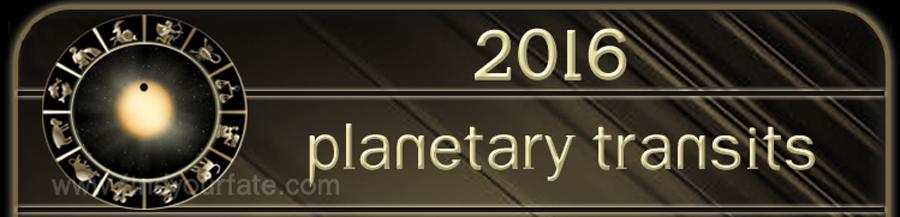 2016 Planetary Transits
