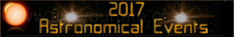 Astronomical Events 2017