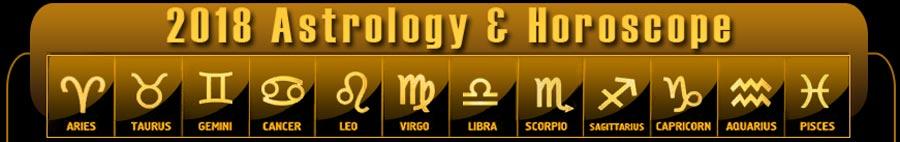 2018 Astrology