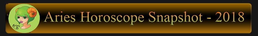 2018 Aries Horoscope