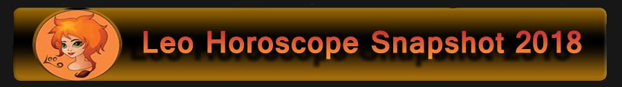 2018 Leo Horoscope