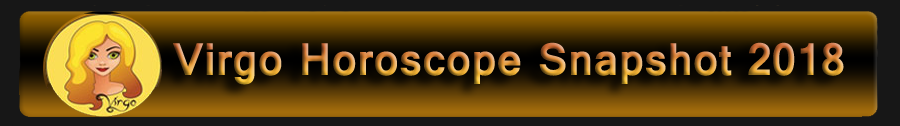 2018 Virgo Horoscope
