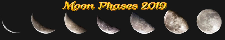 2019 Moon Phases