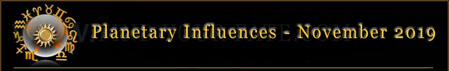 2019 Planet Influences