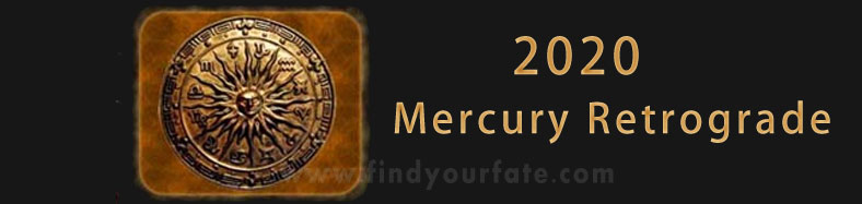 2020 Mercury Retrograde - August