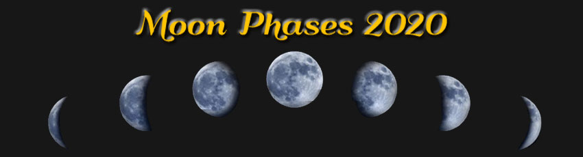 2020 Moon Phases