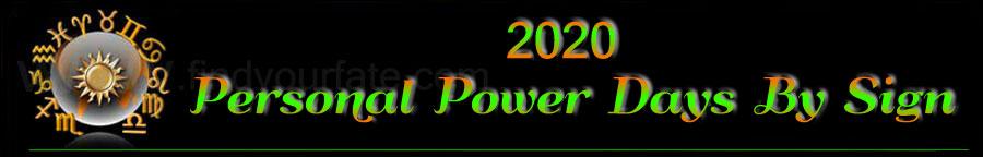 2020 Power Days