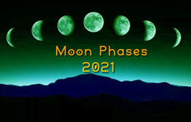 2021 moon phases