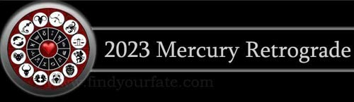2023 Mercury Retrograde