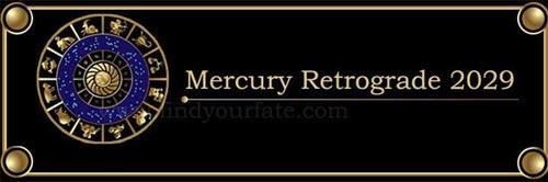 2029 Mercury Retrograde