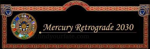 2030 Mercury Retrograde