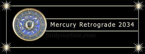 2034 Mercury Retrograde