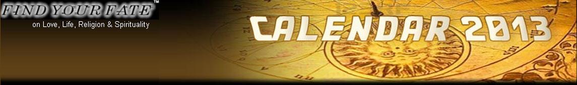 2013 Astrology Calendar
