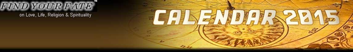 2015 Astrology Calendar