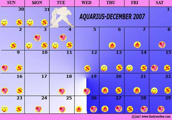 december 26 aquarius astrology