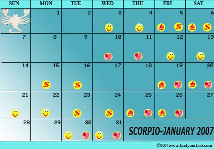 January 12222 Horoscope: Predictions for Scorpio