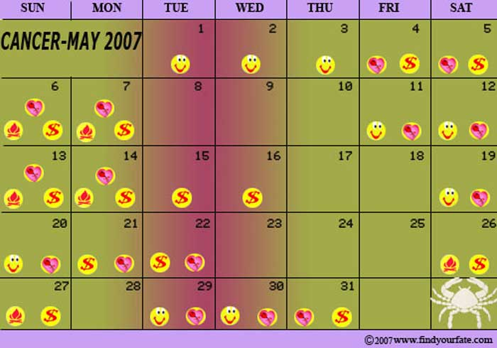 May Zodiac Calendar : Astrology signs calendar page search results