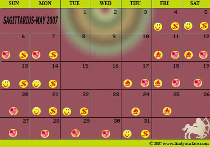 Virgo Calendar May : Astrology calendars for all zodiac signs