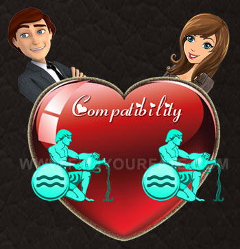 Aquarius Man-Aquarius Woman Compatibility