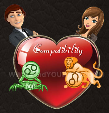 Cancer Man-Leo Woman Compatibility