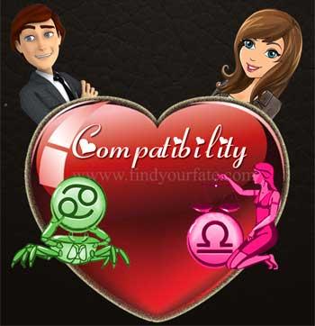 Cancer Man-Libra Woman Compatibility