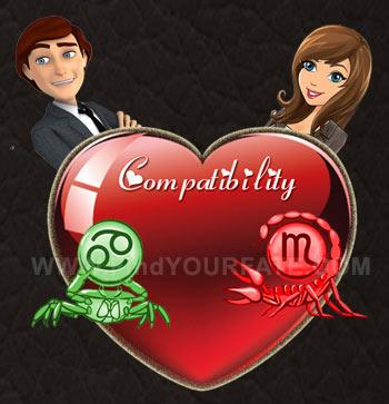 Cancer Man-Scorpio Woman Compatibility