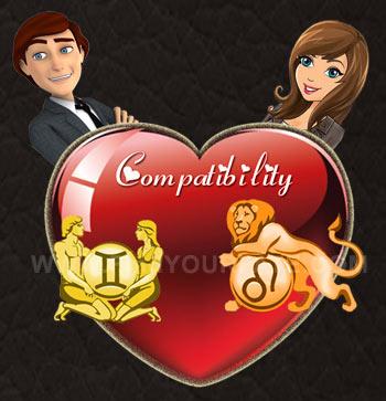 Gemini Man-Leo Woman Compatibility