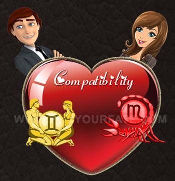 Gemini Man-Scorpio Woman Compatibility