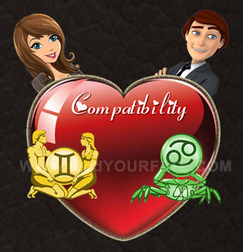 Gemini Woman-Cancer Man Compatibility