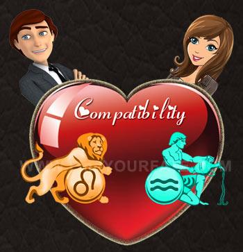 Leo man and aquarius woman love compatibility