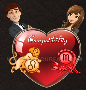 Leo Man-Scorpio Woman Compatibility