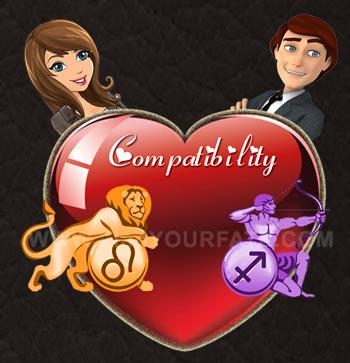 Leo Woman-Sagittarius Man Compatibility