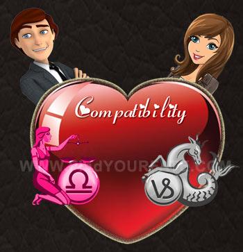 Libra Man-Capricorn Woman Compatibility