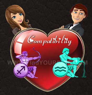 Sagittarius woman and aquarius man love compatibility