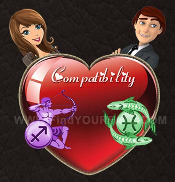 Sagittarius Woman-Pisces Man Compatibility