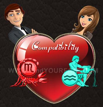 Scorpio Man-Aquarius Woman Compatibility