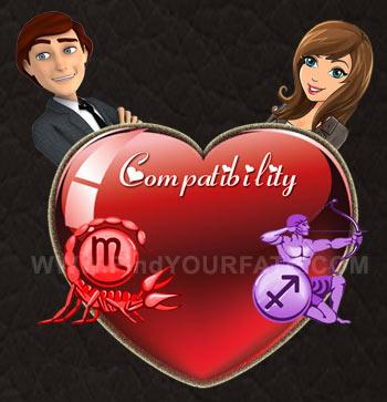 Scorpio Man-Sagittarius Woman Compatibility
