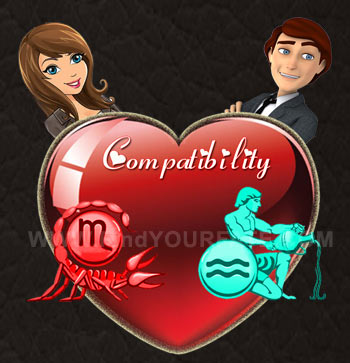 Scorpio Woman-Aquarius Man Compatibility
