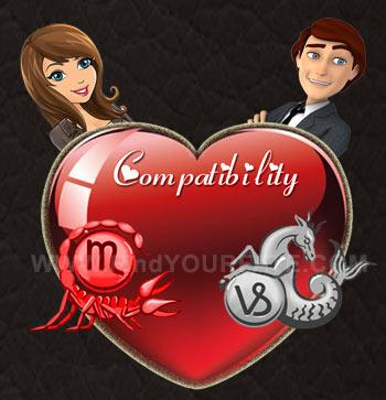 Capricorn man scorpio woman in love